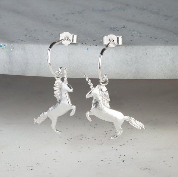 fd2e70454 Handmade Sterling Silver Unicorn Earrings – Soukous